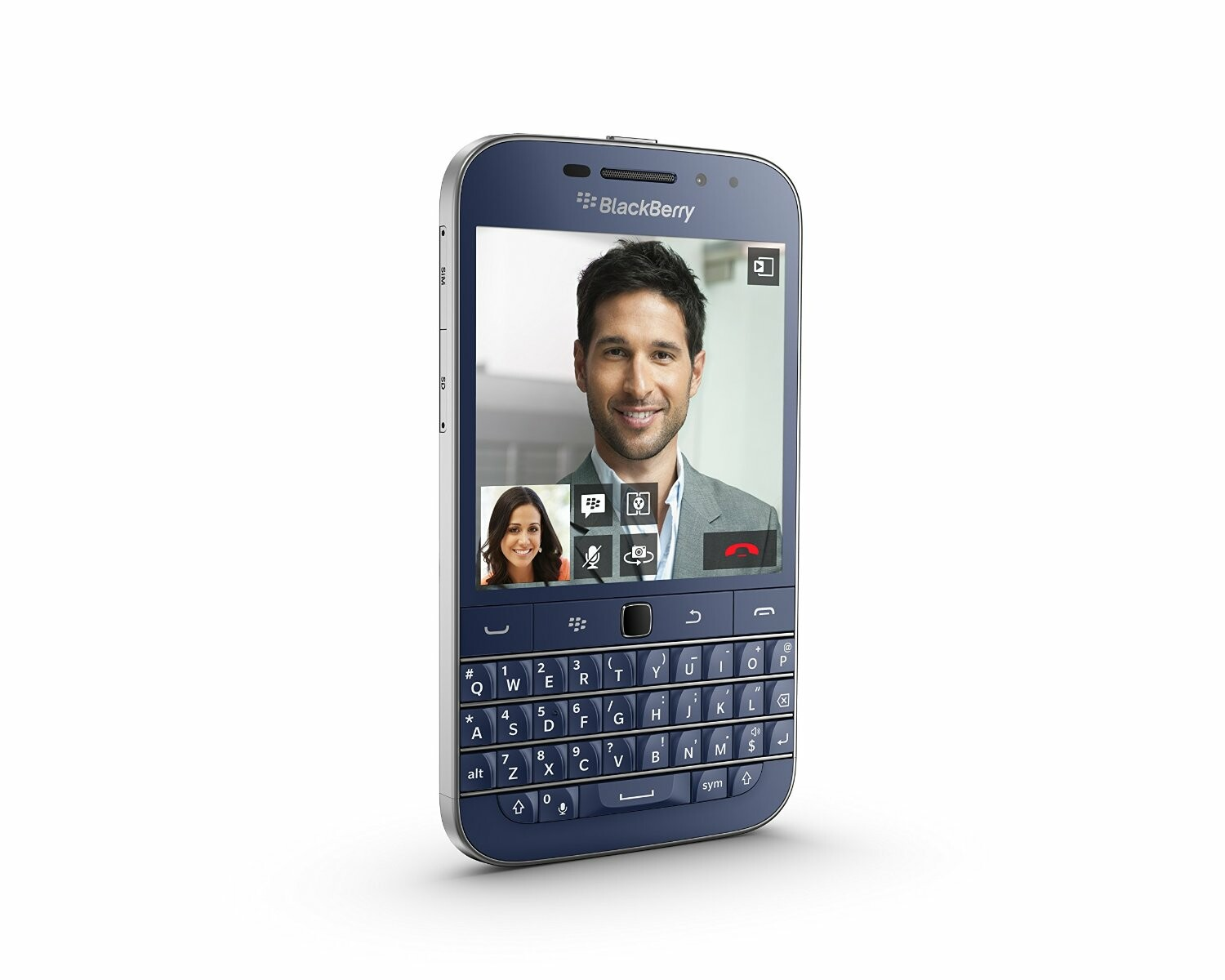 BlackBerry Classic in Cobalt Blue now available for purchase in Hong Kong