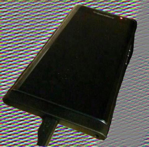 BlackBerry 'Venice' slider captured in blurry cam photo