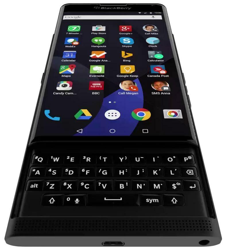 Leaked render shows off the BlackBerry 'Venice' slider keyboard
