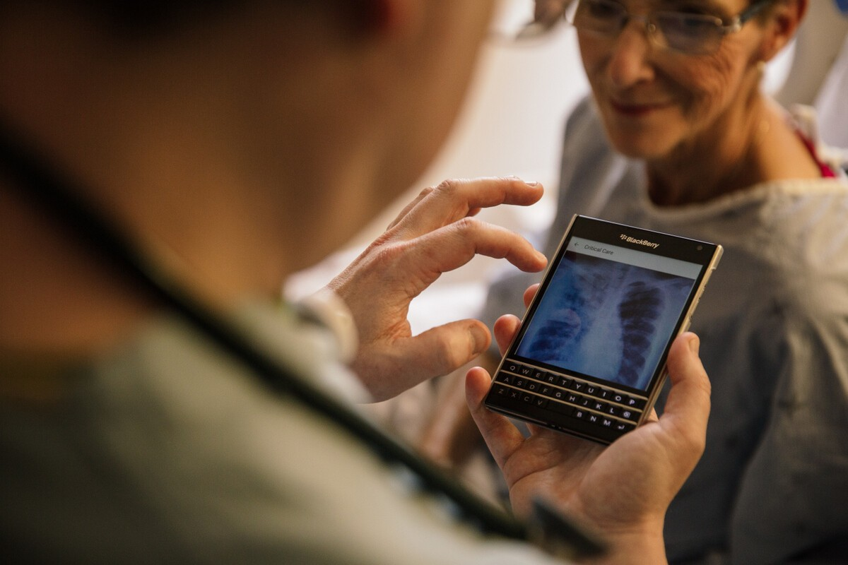 Mackenzie Health works securely with BlackBerry
