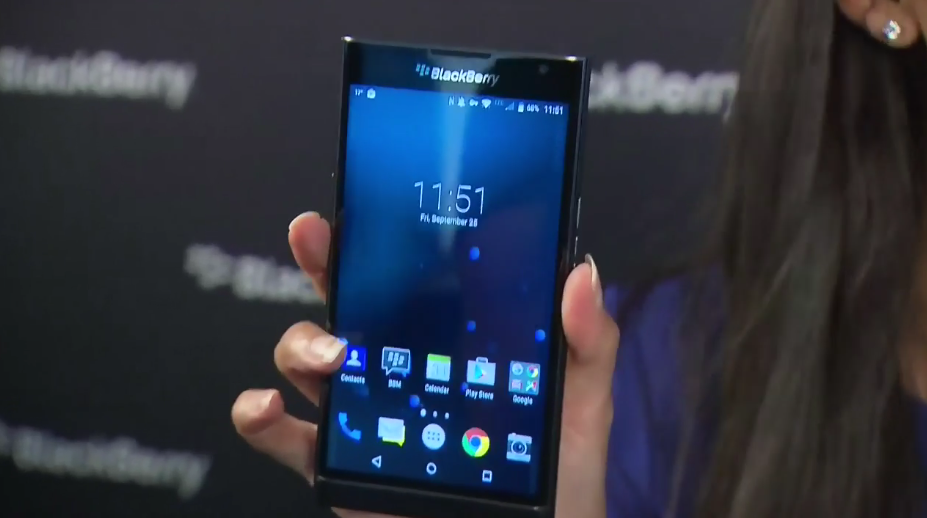 John Chen offers up a closer look at the Priv by BlackBerry