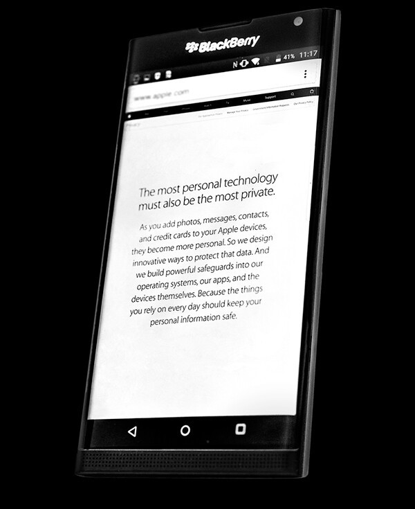 BlackBerry welcomes Apple's new commitment to your privacy