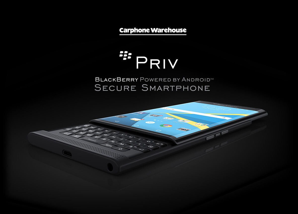 Carphone Warehouse goes hands on with the Priv by BlackBerry