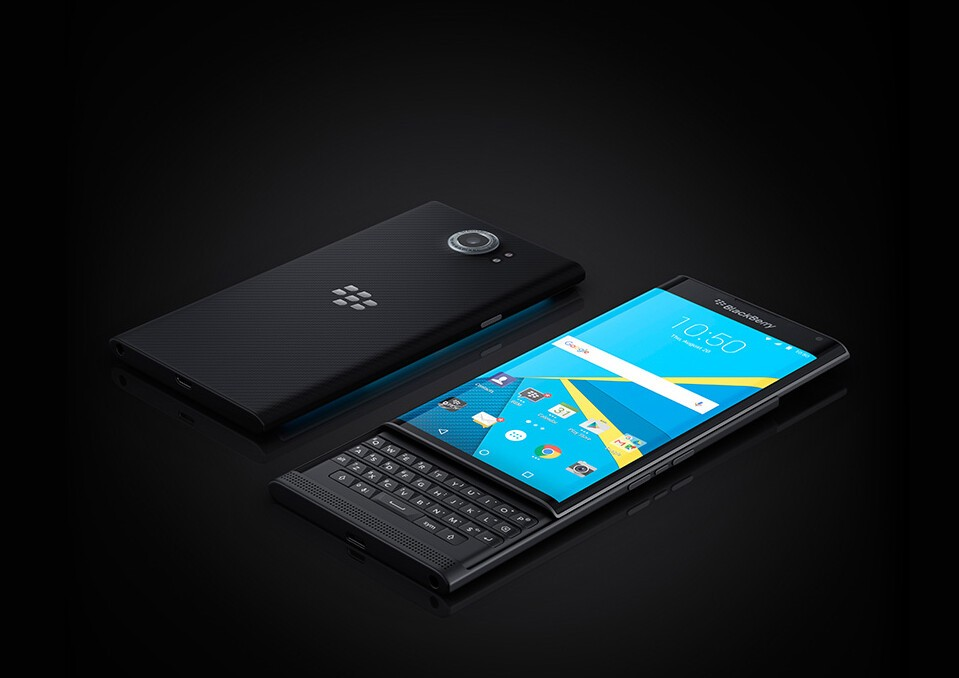 BlackBerry details plans for keeping the Priv updated