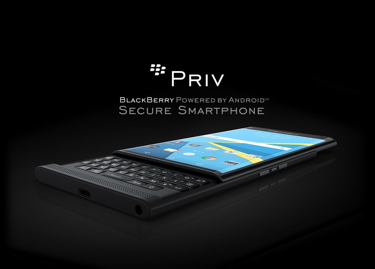 Priv by BlackBerry orders may start as soon as Friday, Oct. 23
