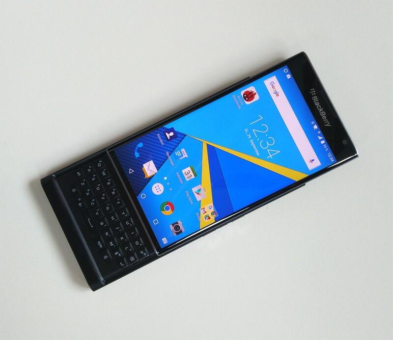 Priv by BlackBerry hands on