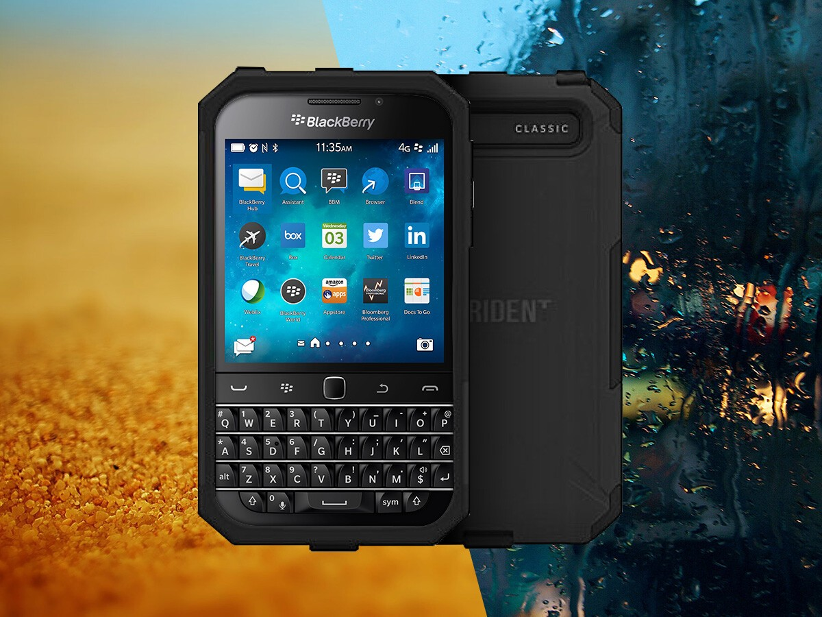 Save $15 when you pre-order the Trident Aegis Case for BlackBerry Classic