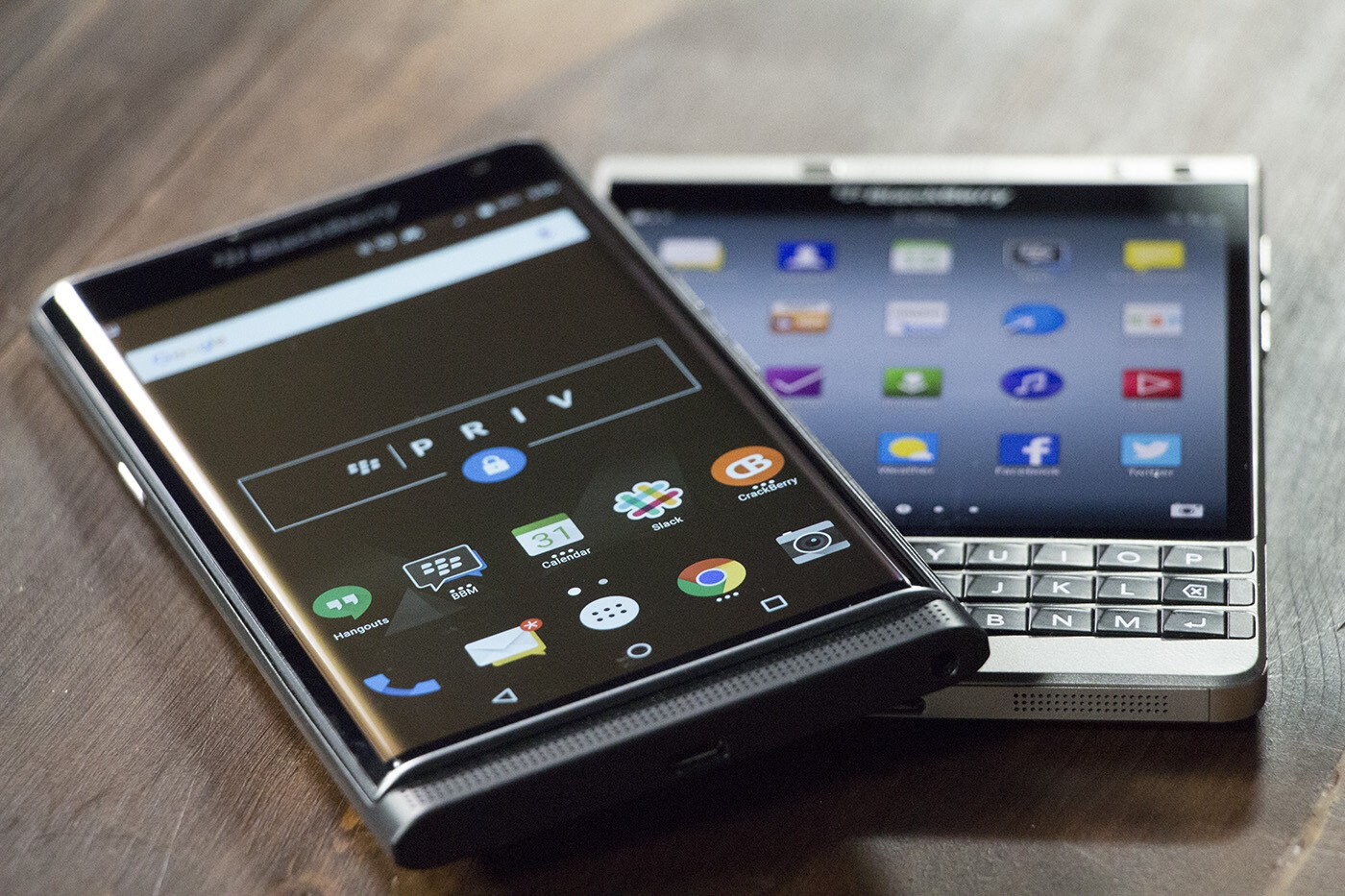BlackBerry Priv and BlackBerry Passport