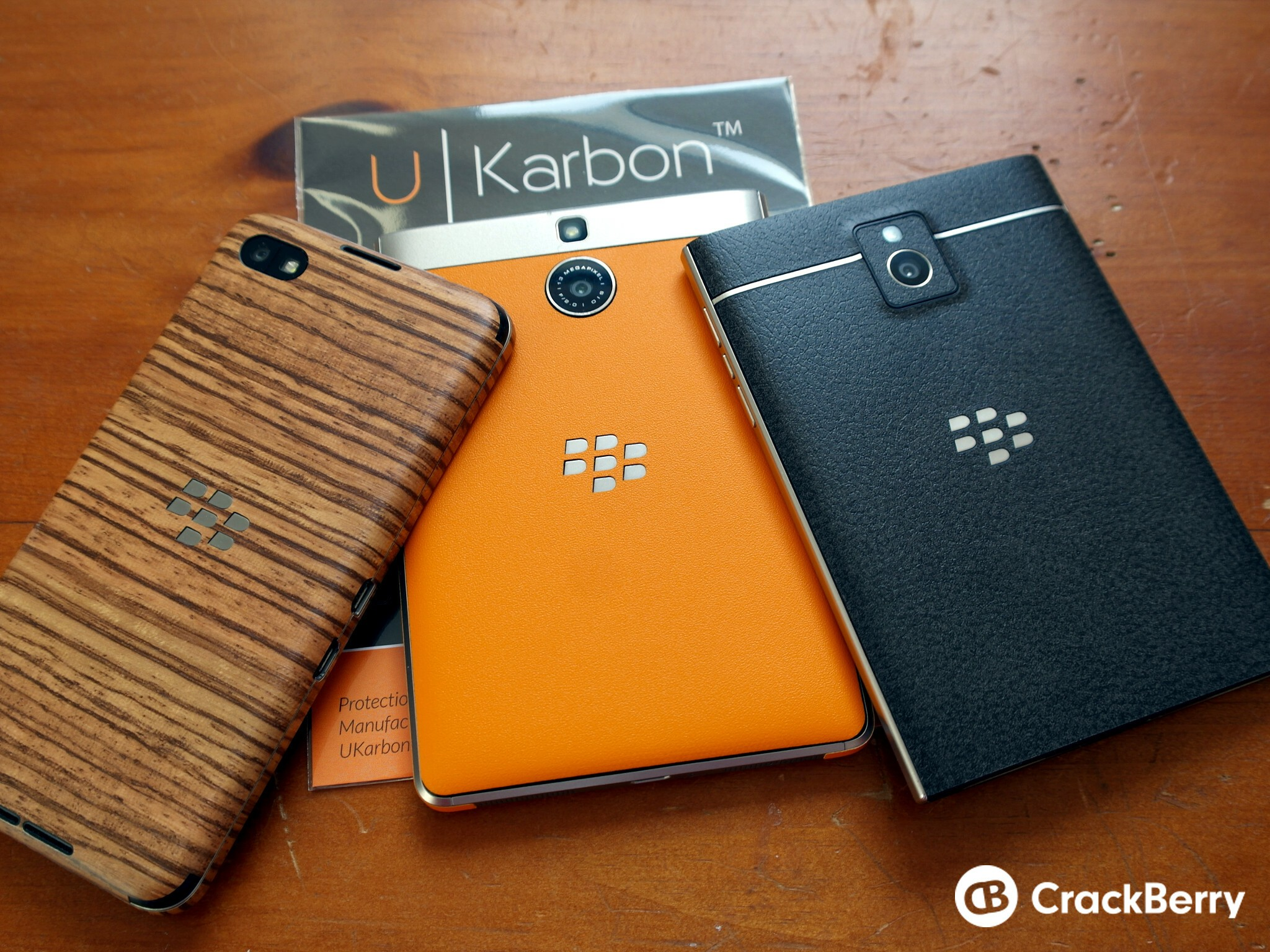 UKarbon skins are a great way to change up the look of your BlackBerry