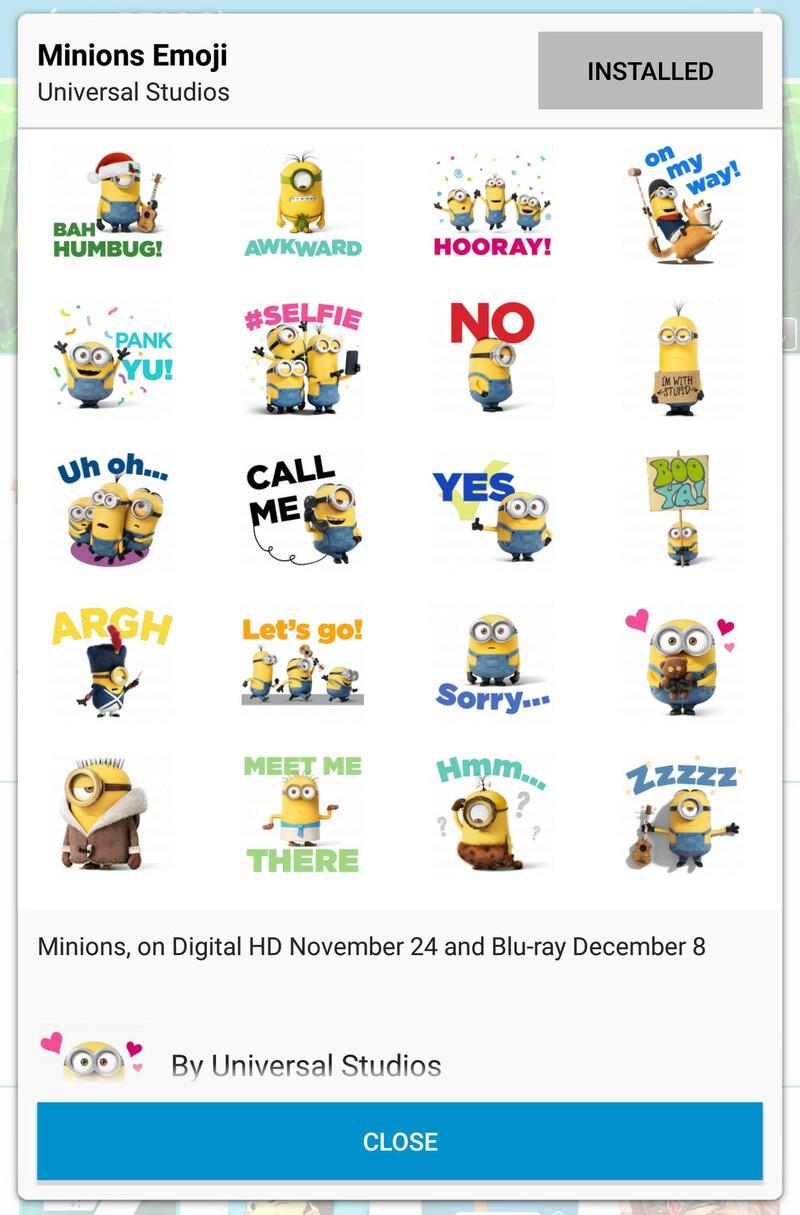 Grab the Minions Emoji BBM sticker pack for free!