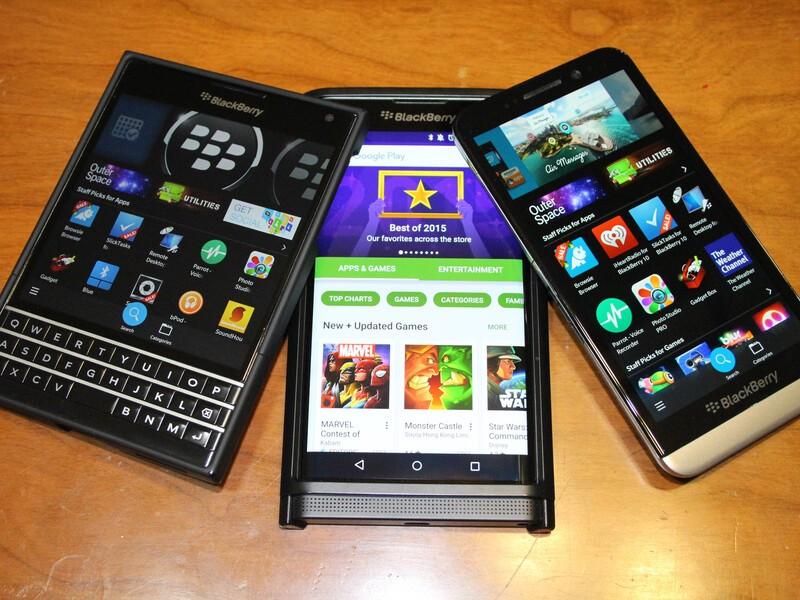 Blackberry app roundup for december 18 2015 for Application miroir blackberry
