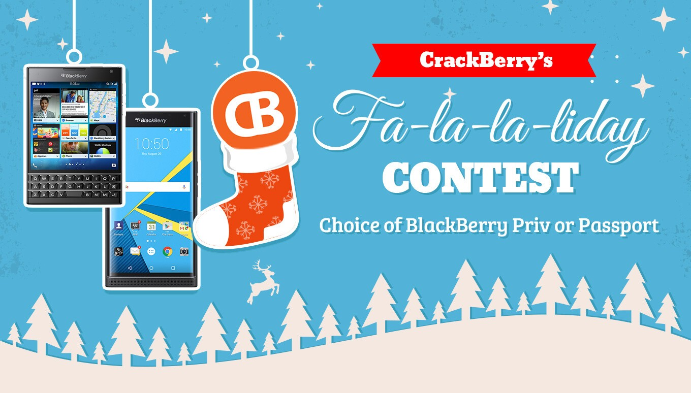CrackBerry's Fa-la-la-liday contest