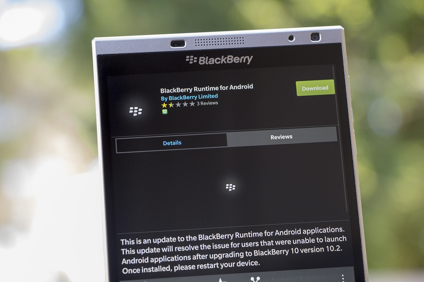 Android Runtime update for BlackBerry 10 now available