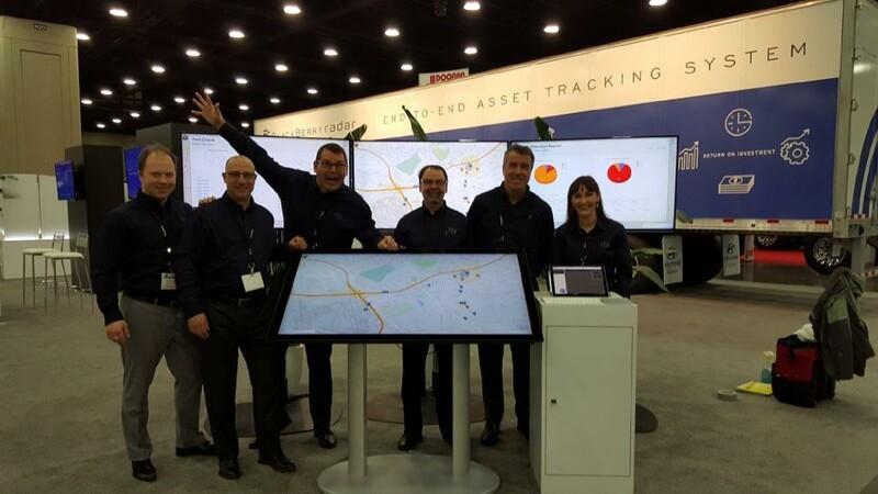 BlackBerry Radar will help trucking companies track and monitor shipments