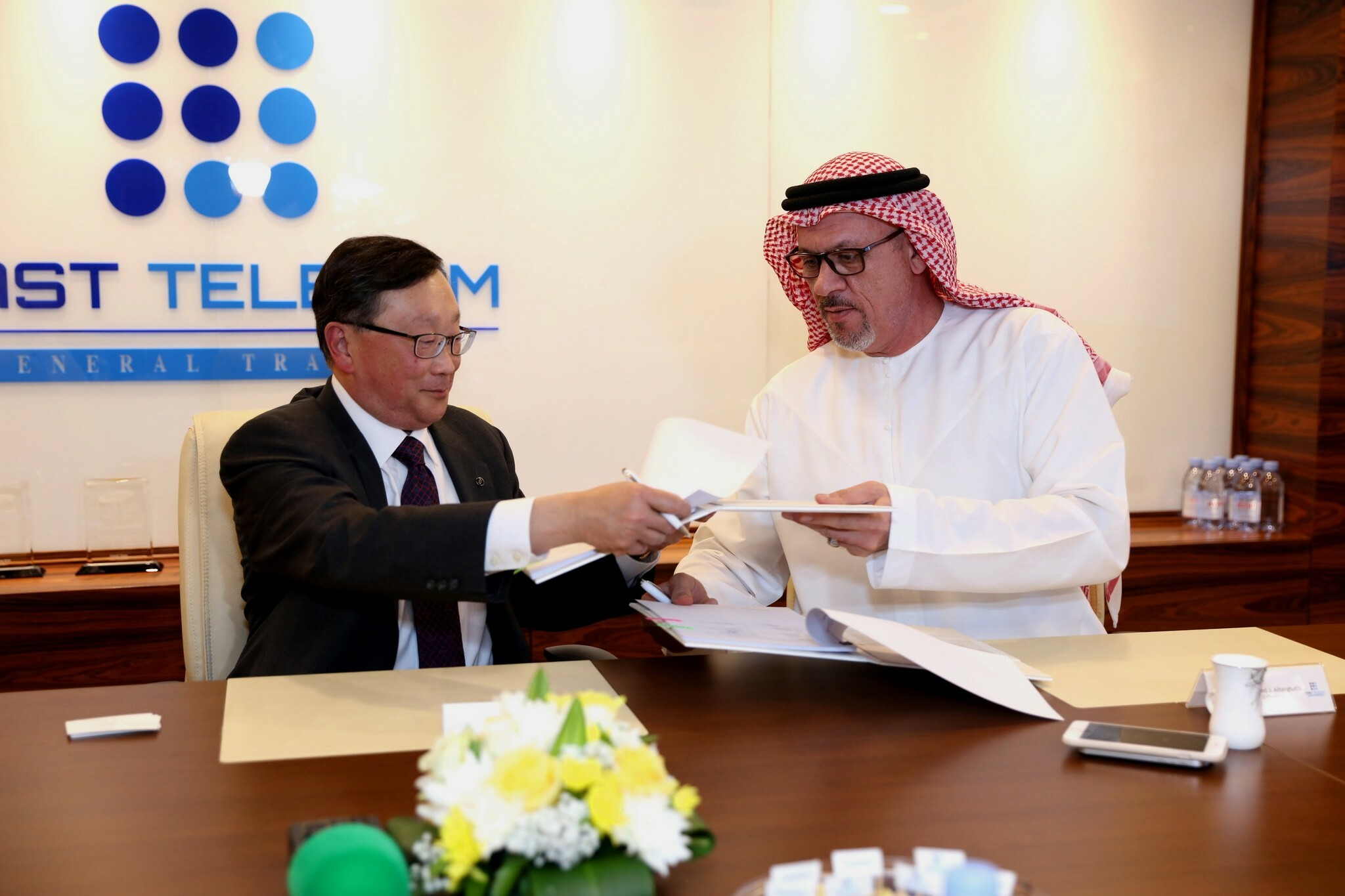 BlackBerry and Fast Telecom sign distribution agreement
