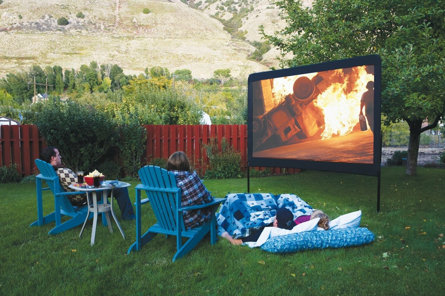 Outdoor Home Theatre System