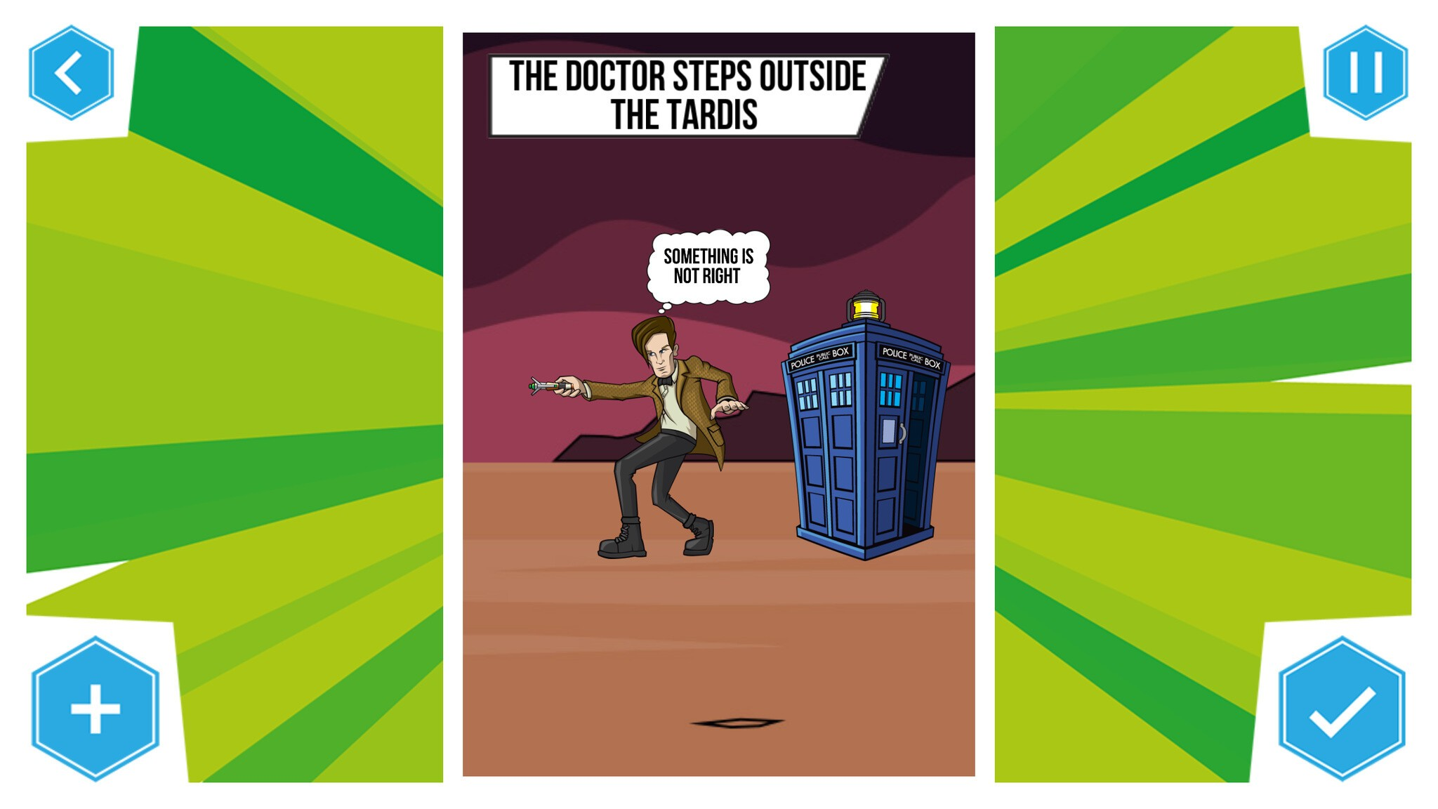 Doctor Who: Comic Creator Example