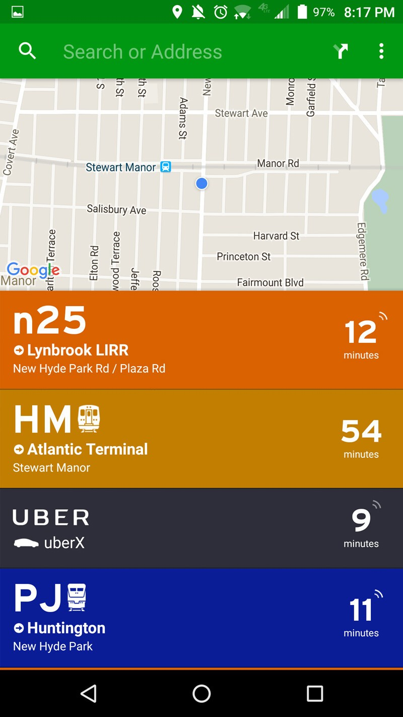 Never miss your bus, rail, or metro again with Transit App: Real
