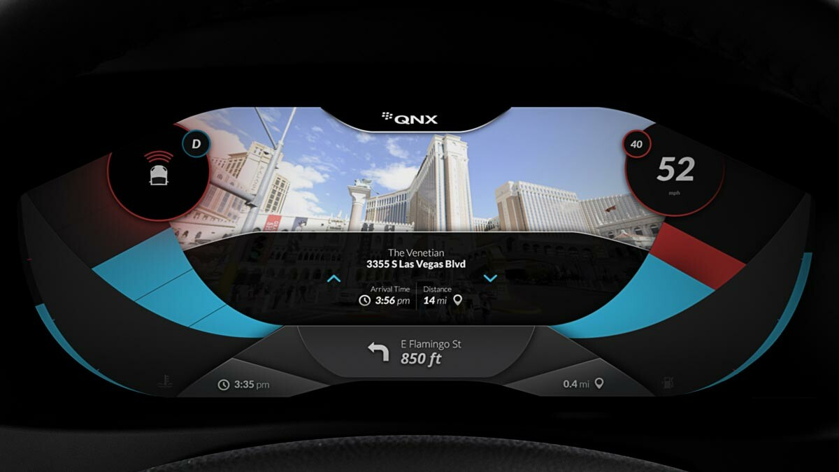 QNX announces Platform for Instrument Clusters for cars