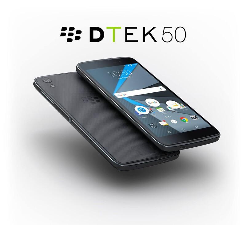 DTEK50 දුරකථනය  Credit : Crackberry