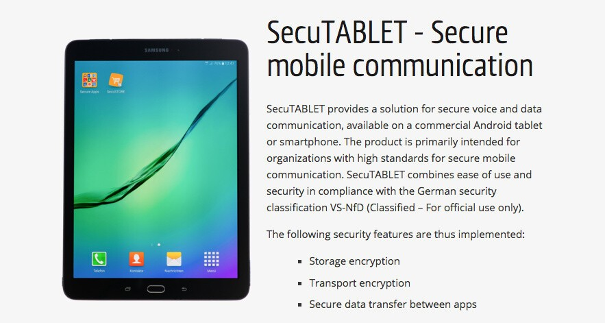 BlackBerry and Samsung supply the first spy-proof tablets ...