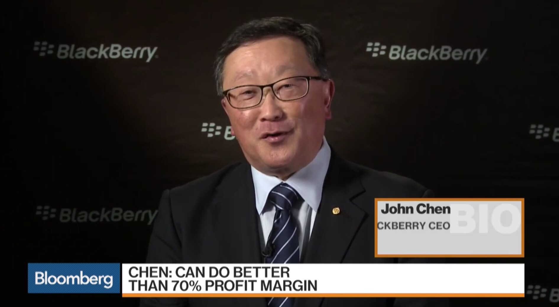 John Chen talks BlackBerry earnings, autonomous vehicles and more!