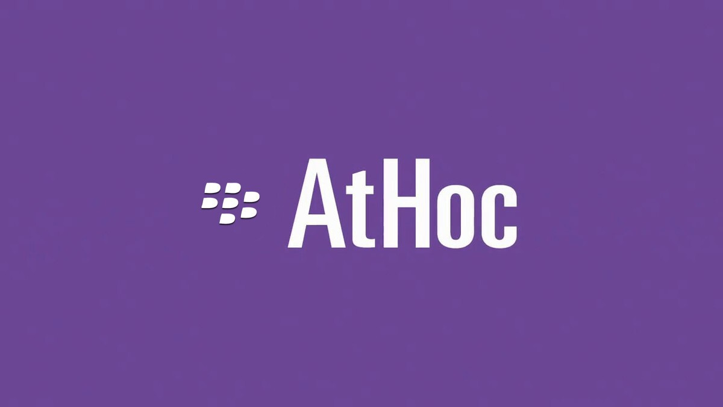 BlackBerry AtHoc Logo