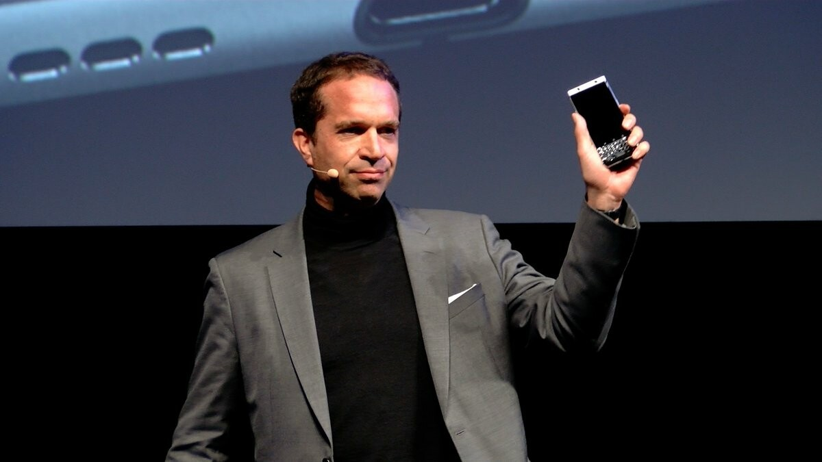 A passion for hardware and having strong products is key for BlackBerry Mobile