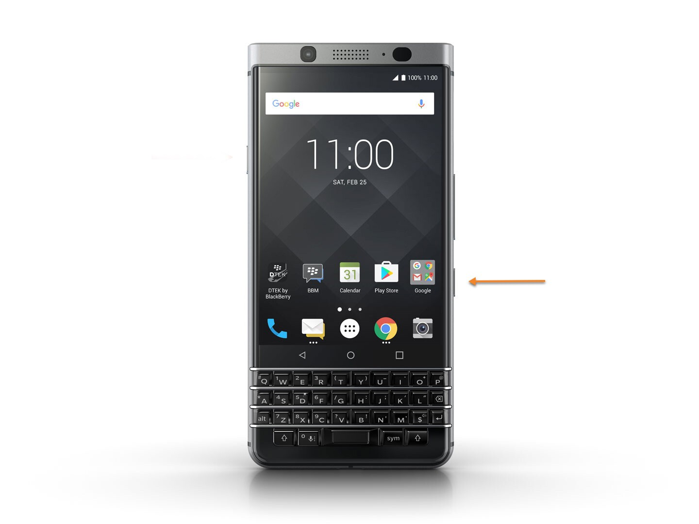 How to set the BlackBerry KEYone Convenience key