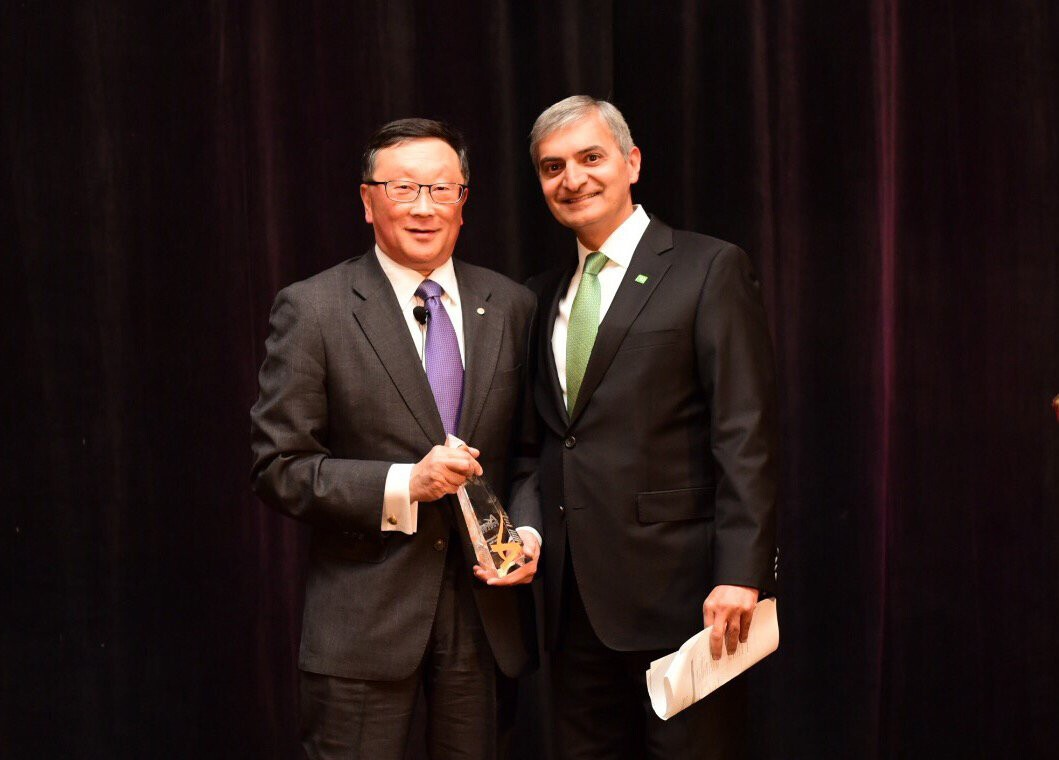 John Chen named Executive of the Year by Ascend Canada