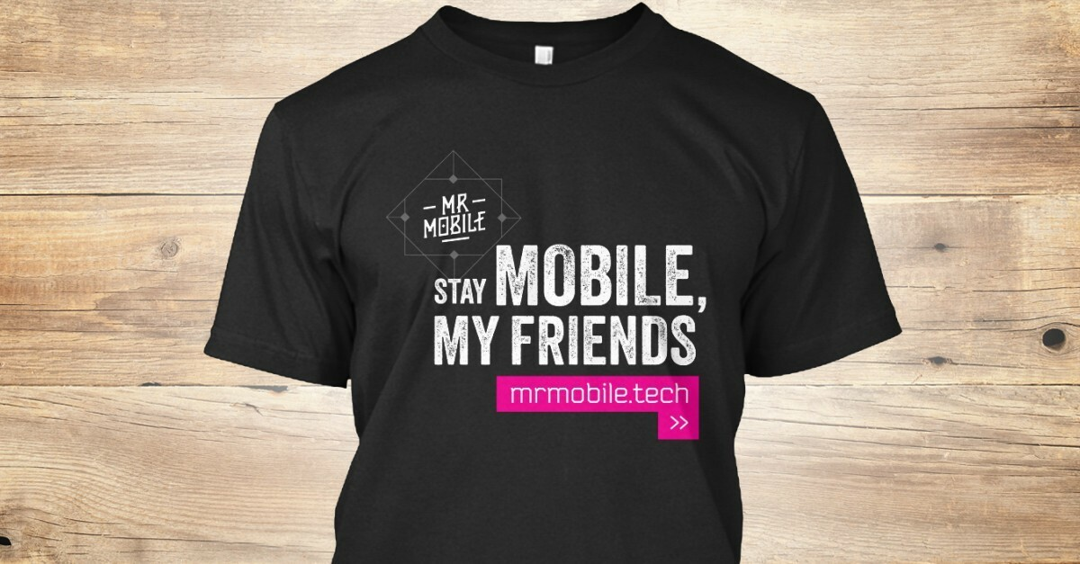 Last chance to get this limited edition MrMobile tee! front 0