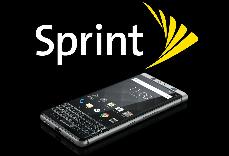 Sprint KEYone graphic