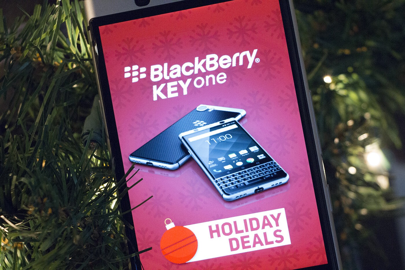 BlackBerry KEYone Holiday Deals