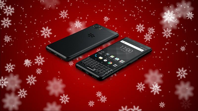 Win a BlackBerry KEYone Black Edition from BlackBerry Mobile!