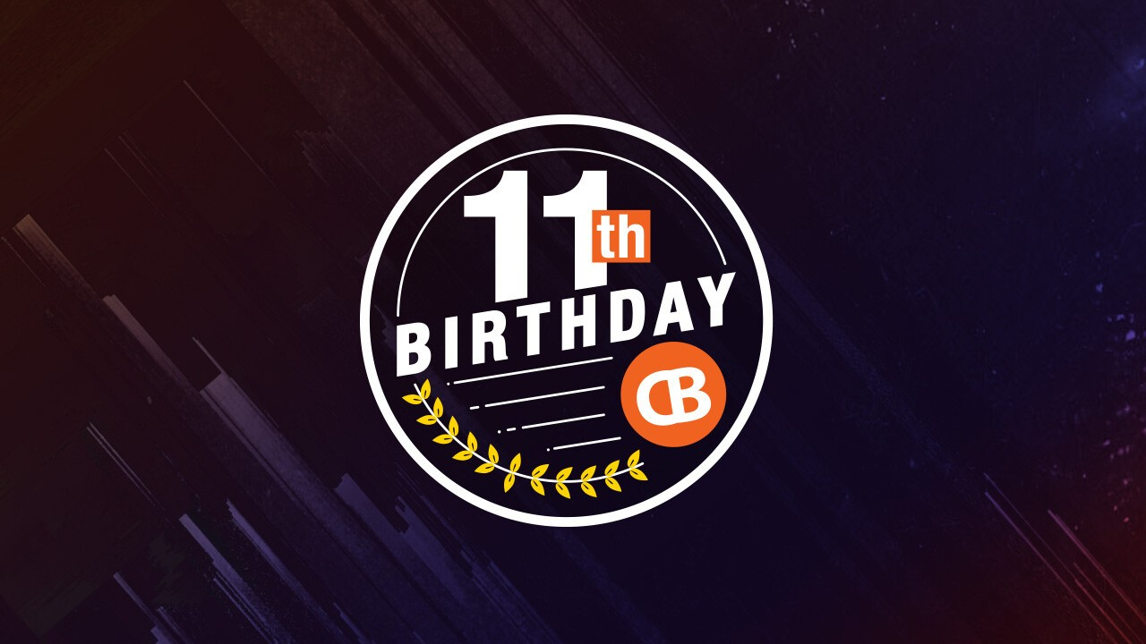 CrackBerry turns 11 years old today, so let's celebrate with a birthday giveaway!