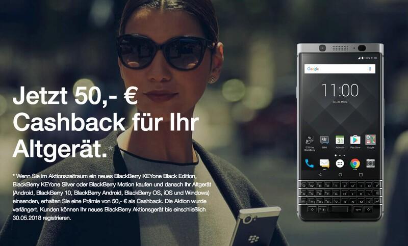 BlackBerry Mobile extends BlackBerry Trade-In program in Germany to April 30