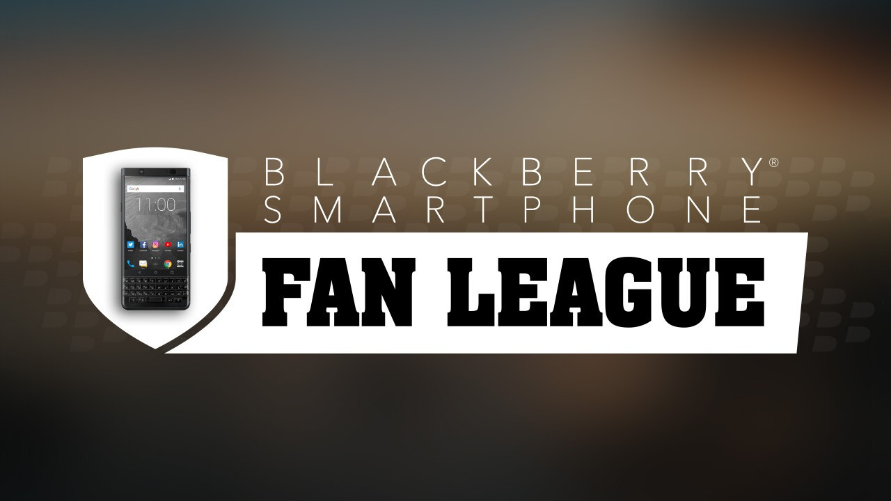 Join the BlackBerry Fan League today!