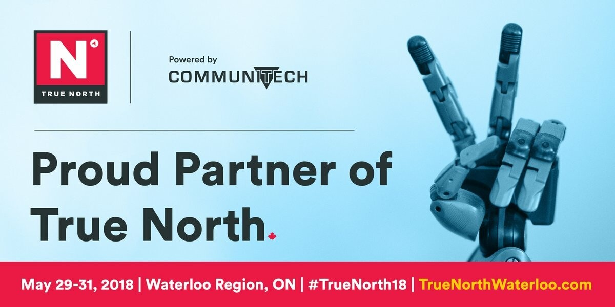 BlackBerry Mobile sponsoring #TrueNorth18 conference and festival powered by Communitech