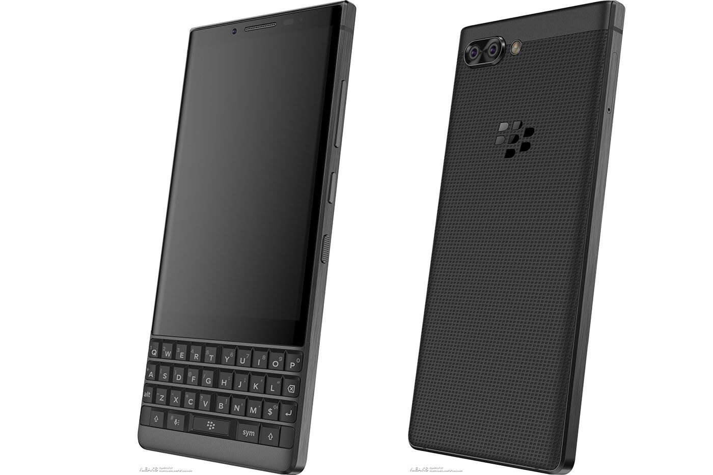 BlackBerry Athena With Physical Keyboard Leaked