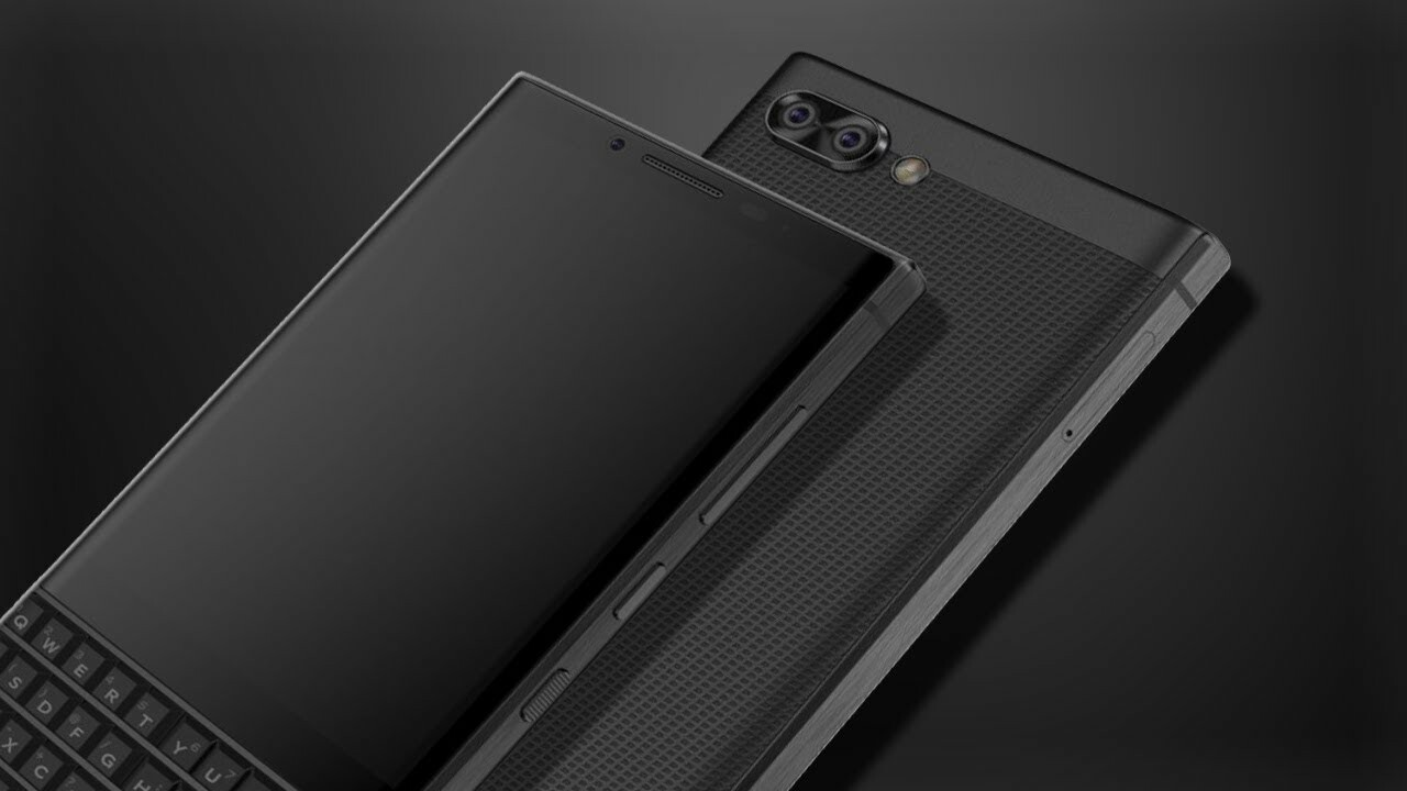 BlackBerry KEY2 render