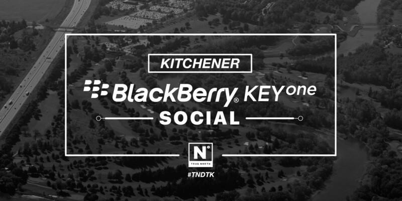 Join BlackBerry Mobile for the BlackBerry KEYone Social in Kitchener!