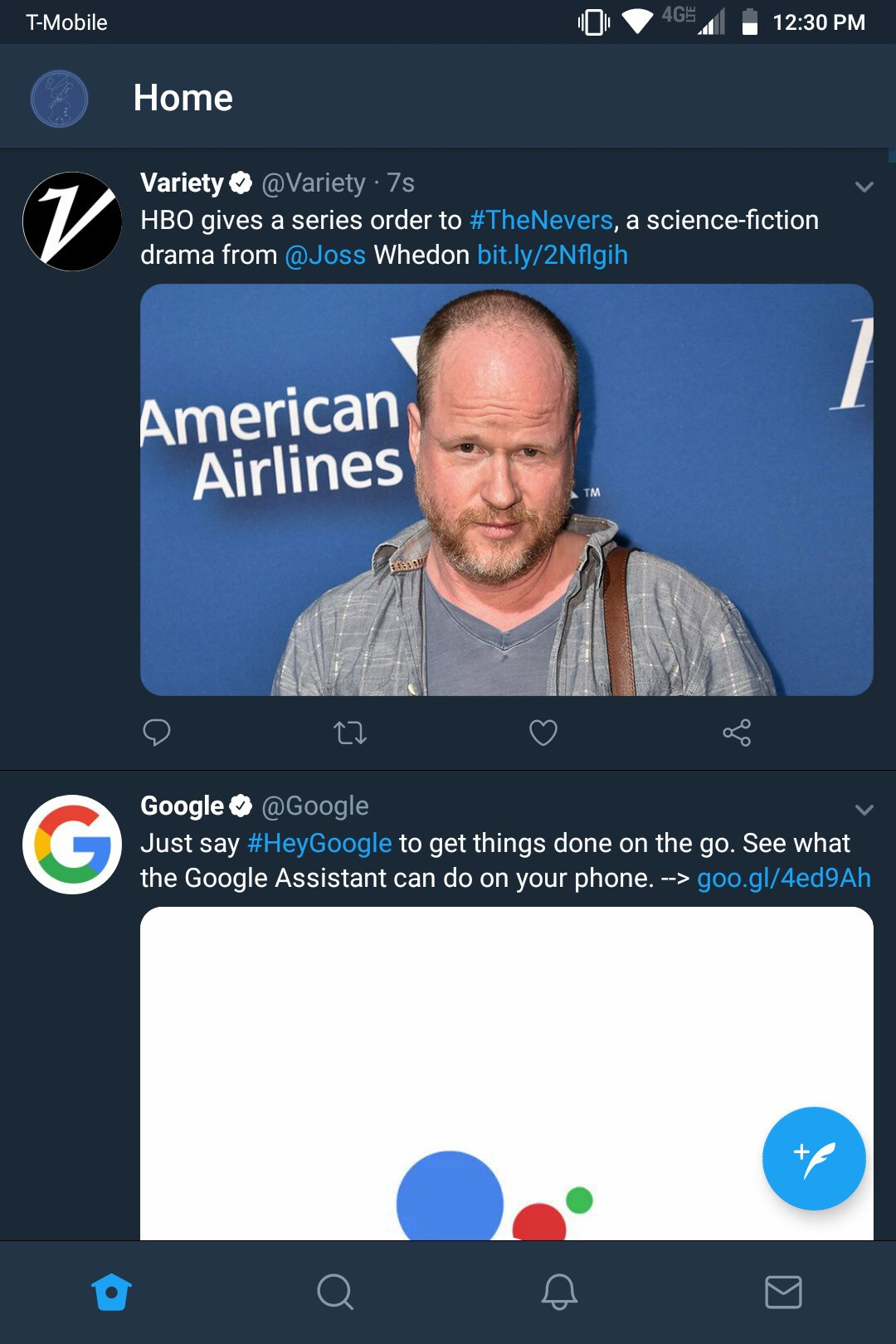 Twitter launches new bottom navigation bar on Twitter for Android screenshot 20180713 123024