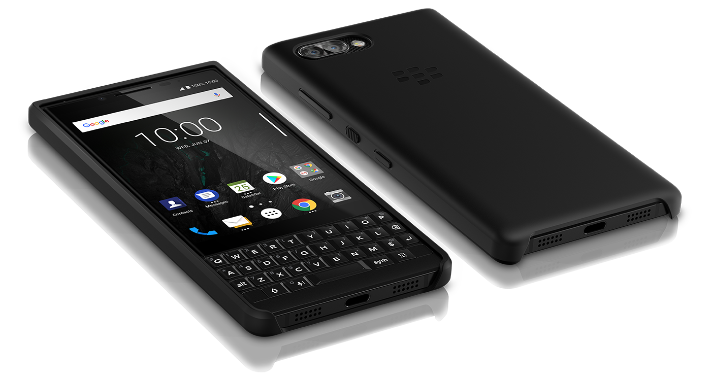 best service a3943 0659d Official BlackBerry KEY2 Flip Case and Soft Shell now available from ...