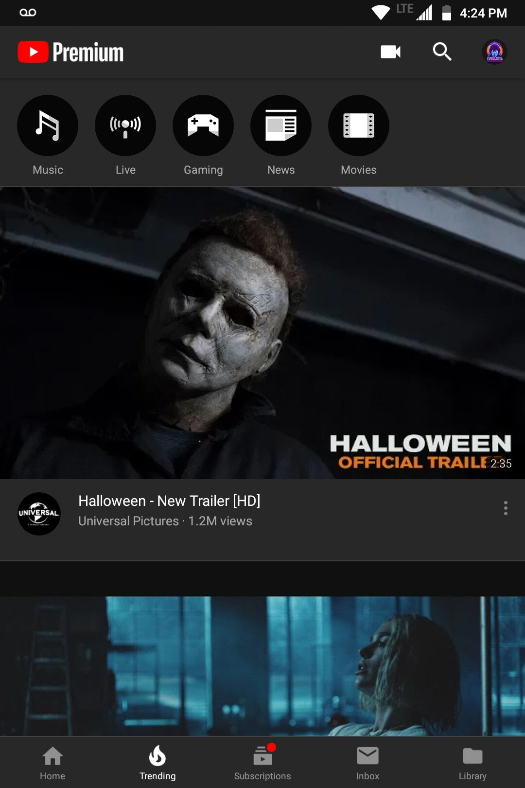 youtube dark theme not working