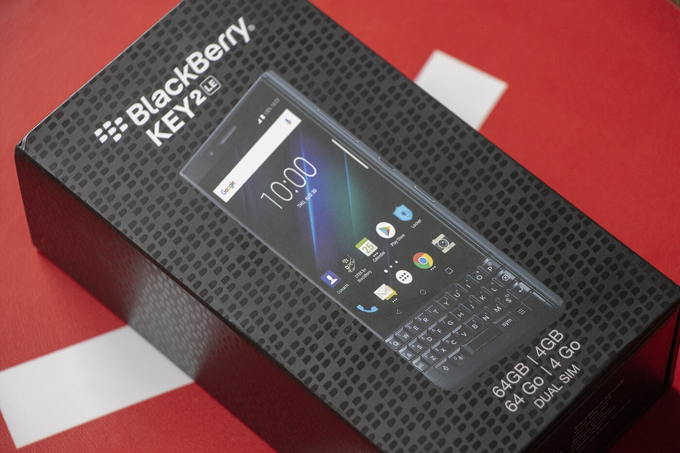 You could win a BlackBerry KEY2 LE in this giveaway from CrackBerry !