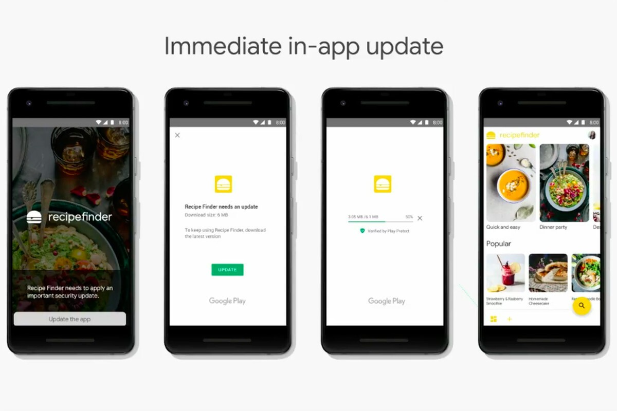 Google introduces In-app Updates API that allows Android
