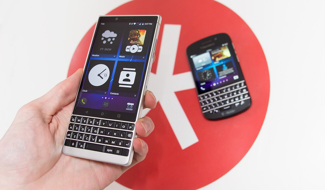 QnA VBage Give your BlackBerry KEY2 and KEY2 LE that old-school feel