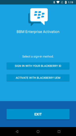 How to subscribe to BBM Enterprise on Android | CrackBerry com
