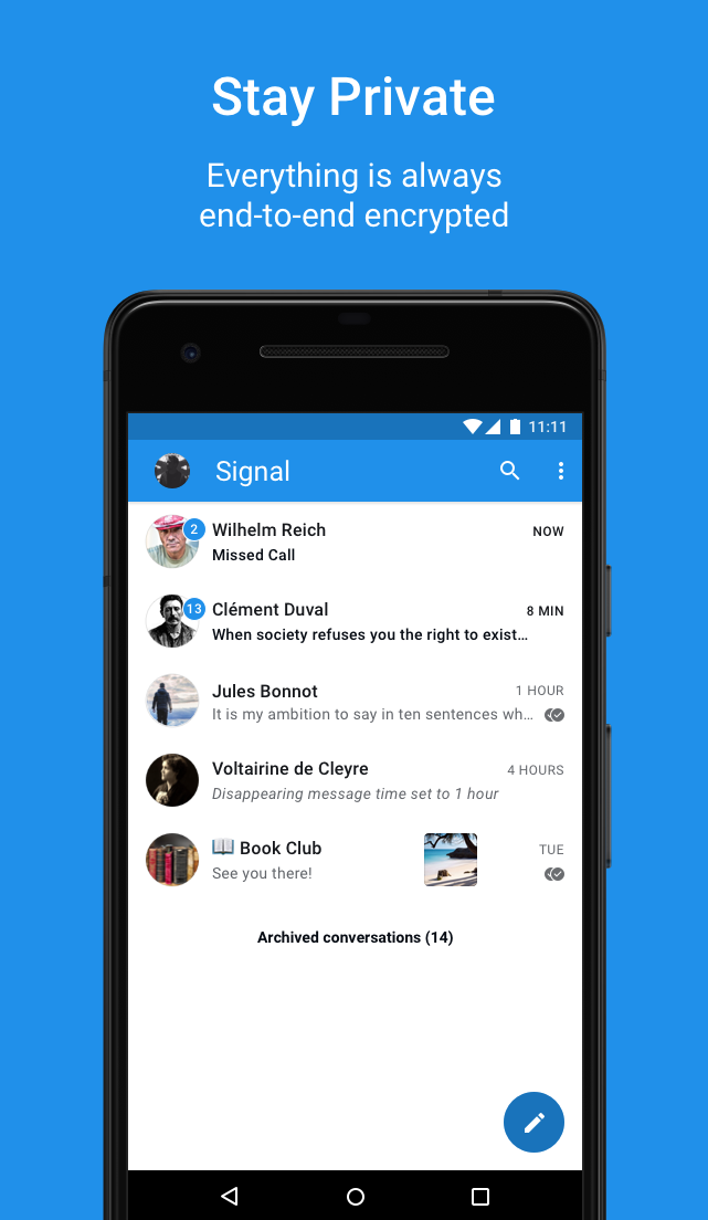 Seven slick messaging apps to keep you connected on your