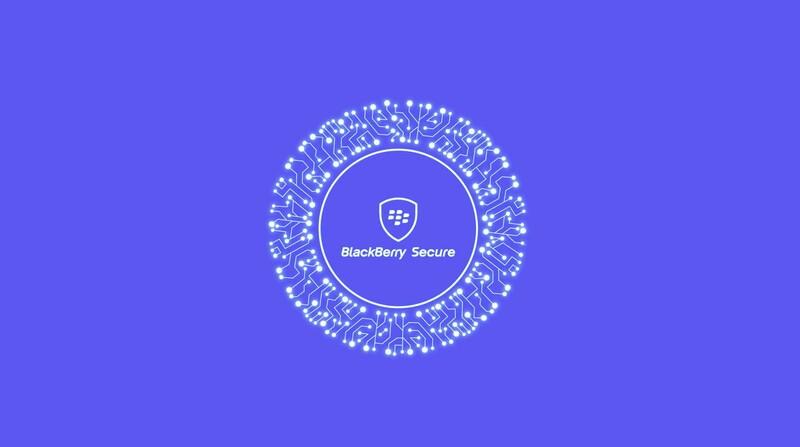 BlackBerry Secure logo